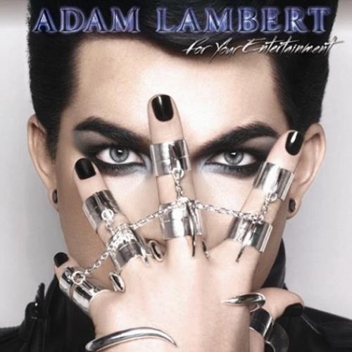 Adam Lambert For Your Entertainment CD album (CDLP) UK AKZCDFO505161