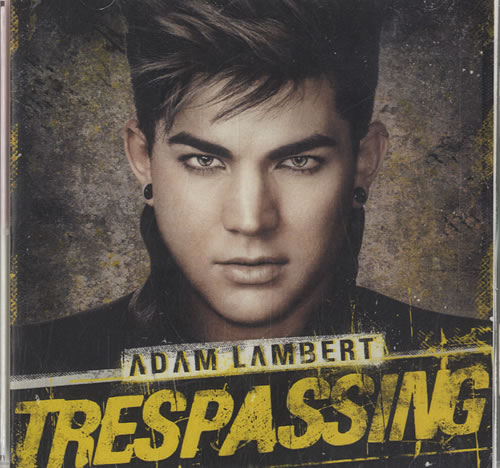 Adam Lambert Trespassing CD-R acetate Japanese AKZCRTR568120