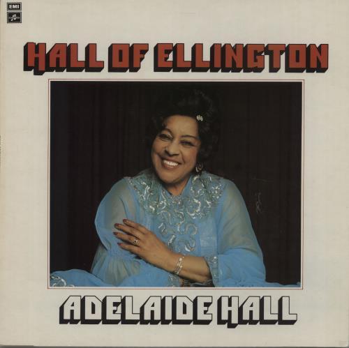 Adelaide Hall Hall Of Ellington vinyl LP album (LP record) UK A6LLPHA669961