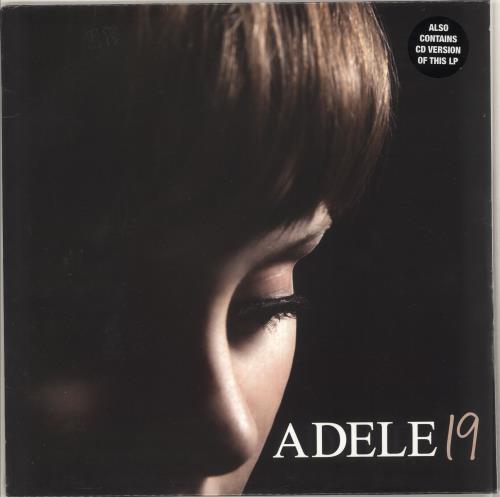 Adele 19 (Nineteen) - Sealed + CD vinyl LP album (LP record) UK AYXLPNI728428