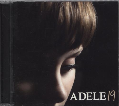 Adele 19 - Nineteen CD album (CDLP) Japanese AYXCDNI715650