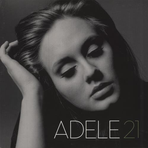 Adele 21 (Twenty One) vinyl LP album (LP record) UK AYXLPTW579009