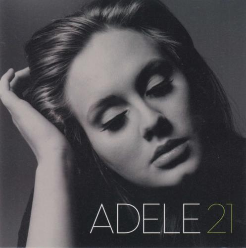 Adele 21 - Twenty One CD album (CDLP) Japanese AYXCDTW739988