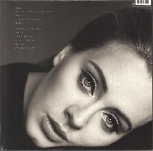 Adele 25 (Twenty Five) - Sealed vinyl LP album (LP record) UK AYXLPTW644341