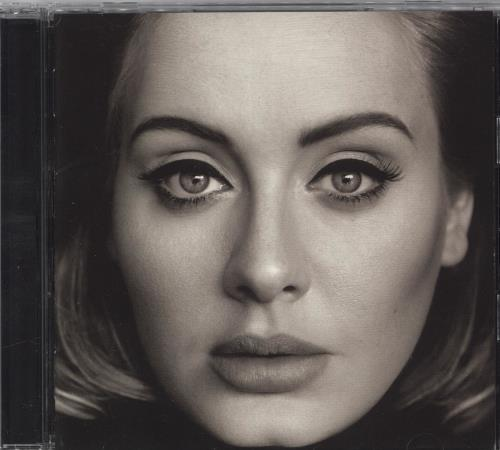 Adele 25 - Twenty Five CD album (CDLP) Japanese AYXCDTW715653