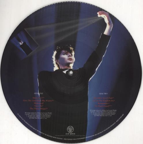 Adrian Lee The Magician picture disc LP (vinyl picture disc album) UK 0DSPDTH727391