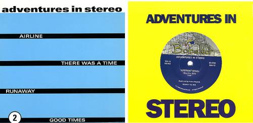 """Adventures In Stereo Set Of 4 Limited Edition 7"""" Singles 7"""" vinyl single (7 inch record) UK I.S07SE348645"""