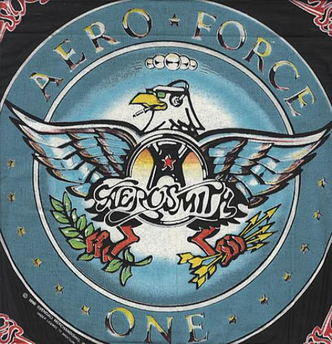 Aerosmith Aero Force One Bandana Us Memorabilia 340556