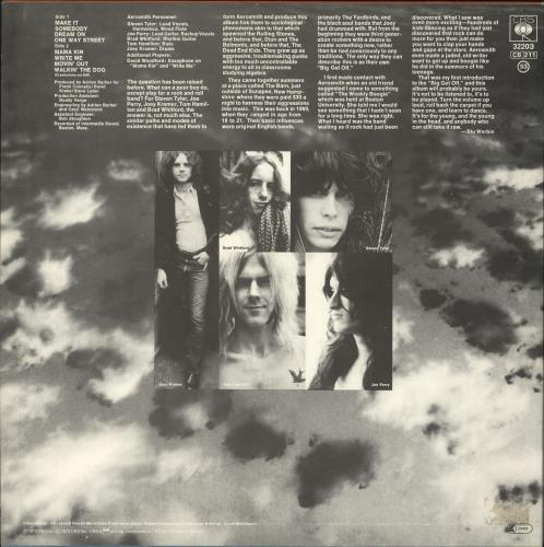 Aerosmith Aerosmith - red label vinyl LP album (LP record) Dutch AERLPAE742358