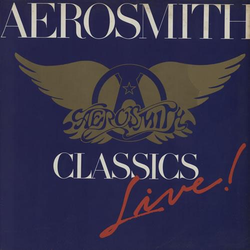 Aerosmith Classics Live I vinyl LP album (LP record) UK AERLPCL581703