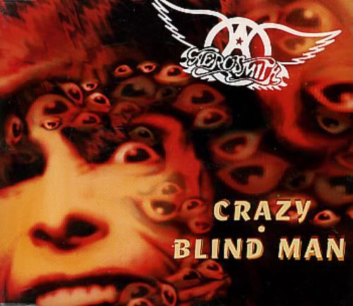 "Aerosmith Crazy CD single (CD5 / 5"") UK AERC5CR37084"