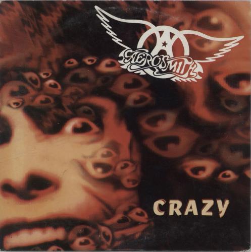 "Aerosmith Crazy CD single (CD5 / 5"") Dutch AERC5CR673629"