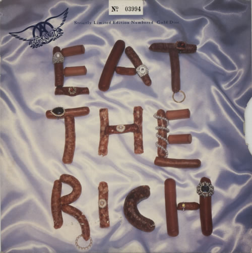 Aerosmith Eat The Rich Gold Vinyl Uk 10 Quot Vinyl Single