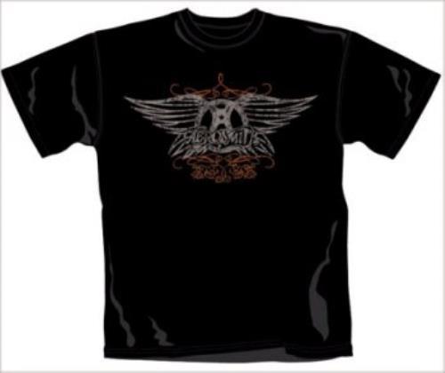 Aerosmith Faded Wings T-Shirt - Medium t-shirt UK AERTSFA365905
