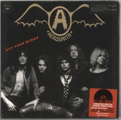 Aerosmith Get Your Wings - Record Store Day vinyl LP album (LP record) UK AERLPGE583284