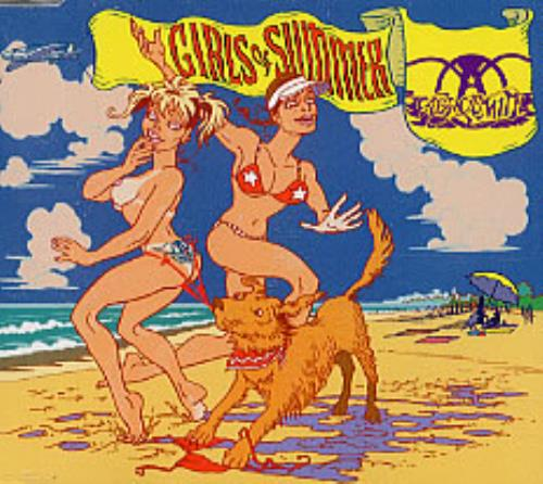 Aerosmith Girls Of Summer CD-R acetate US AERCRGI252211