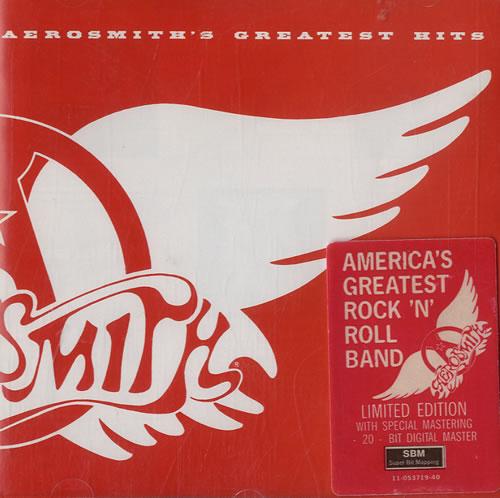 Aerosmith Greatest Hits CD album (CDLP) Austrian AERCDGR602728
