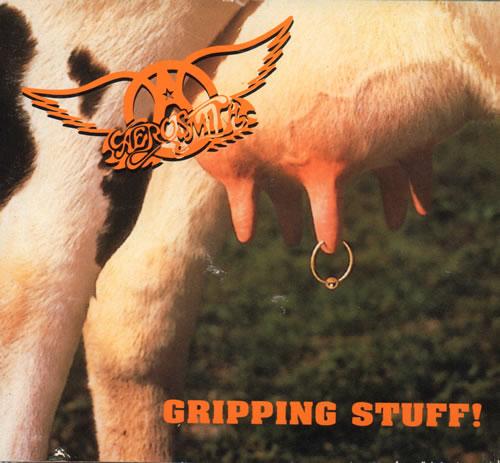 Aerosmith Gripping Stuff - Digipak - EX CD album (CDLP) UK AERCDGR638975