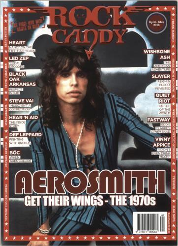 Aerosmith Rock Candy - April-May 2018 magazine UK AERMARO736355