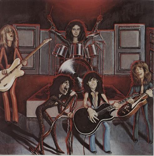 Aerosmith Rocks vinyl LP album (LP record) Japanese AERLPRO227956