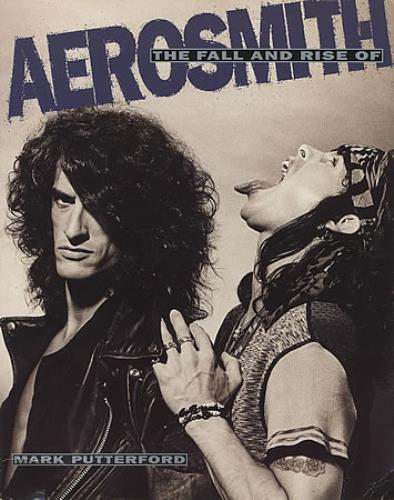Aerosmith The Fall And Rise Of book UK AERBKTH229872
