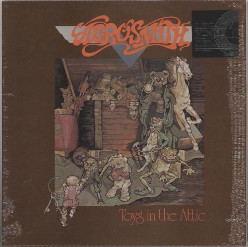 Aerosmith Toys In The Attic - 180 Gram - Sealed vinyl LP album (LP record) German AERLPTO736099