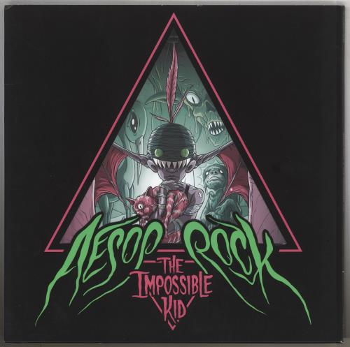 Aesop Rock The Impossible Kid - Pink and Green Vinyl 2-LP vinyl record set (Double Album) US AI32LTH740519