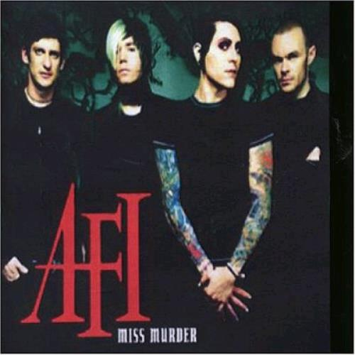 "AFI Miss Murder CD single (CD5 / 5"") UK AFSC5MI361330"