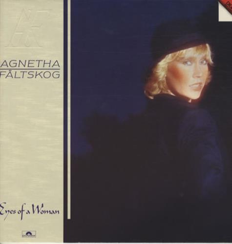 Agnetha Fältskog Eyes Of A Woman vinyl LP album (LP record) German AGNLPEY345468