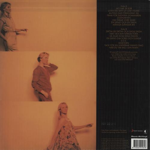 Agnetha Fältskog Tio År Med Agnetha - Flaming Coloured Vinyl vinyl LP album (LP record) UK AGNLPTI756978