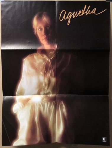 Agnetha Fältskog Tio Ar Med + Poster vinyl LP album (LP record) Swedish AGNLPTI16468