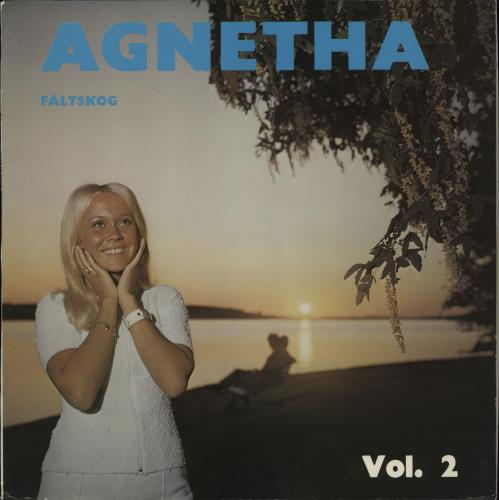 Agnetha Fältskog Vol. 2 vinyl LP album (LP record) Swedish AGNLPVO520732