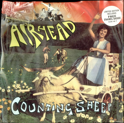 "Airhead Counting + Badge 12"" vinyl single (12 inch record / Maxi-single) UK AHD12CO117884"