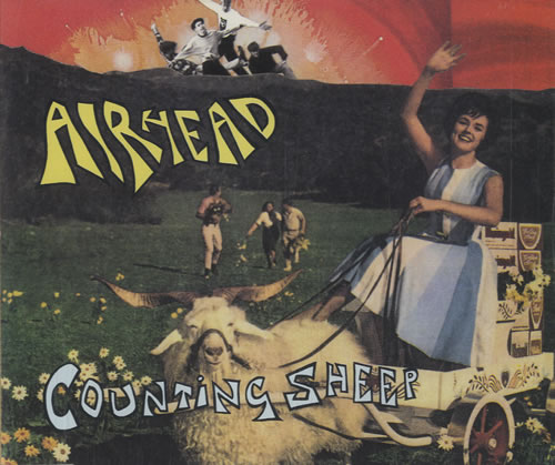 "Airhead Counting Sheep CD single (CD5 / 5"") German AHDC5CO98621"