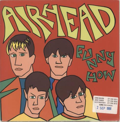 "Airhead Funny How 7"" vinyl single (7 inch record) UK AHD07FU747471"