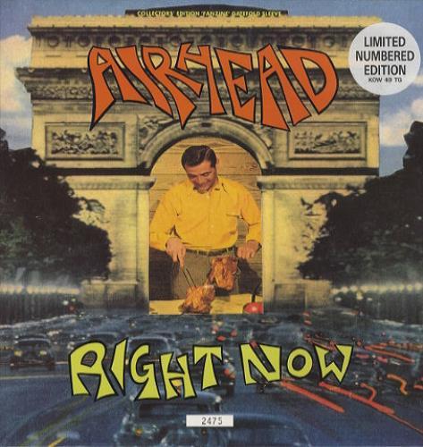 "Airhead Right Now 12"" vinyl single (12 inch record / Maxi-single) UK AHD12RI100652"
