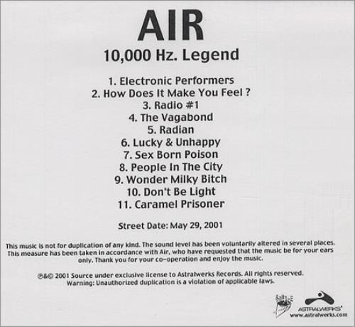 10,000 Hz Legend
