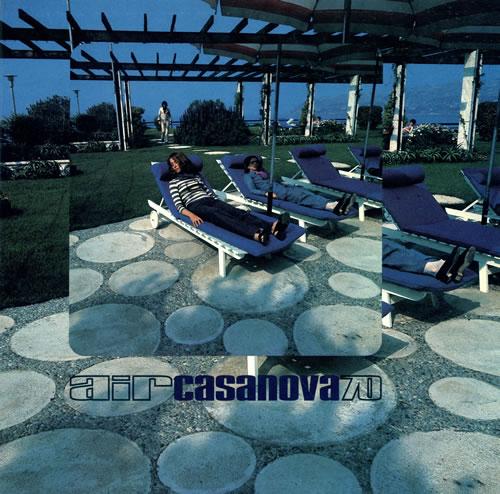 "Air (French) Casanova 70 12"" vinyl single (12 inch record / Maxi-single) French AIR12CA467156"