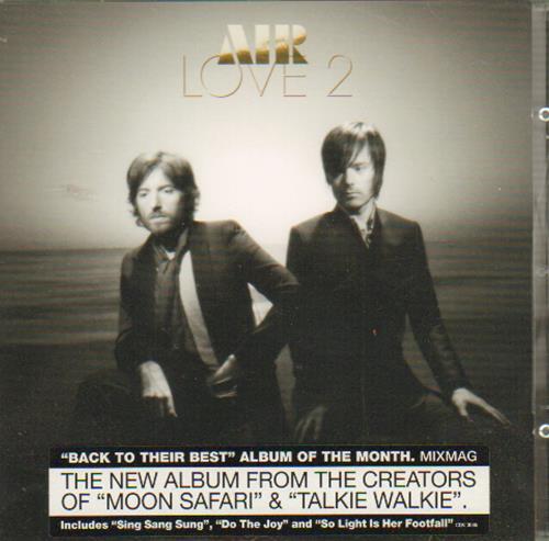 Air (French) Love 2 CD album (CDLP) UK AIRCDLO485035