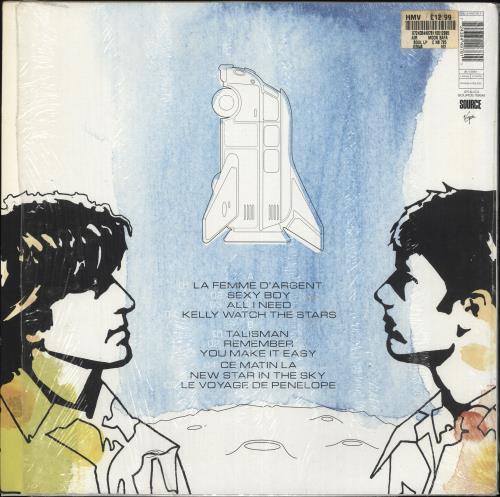 Air (French) Moon Safari - EX vinyl LP album (LP record) UK AIRLPMO709058