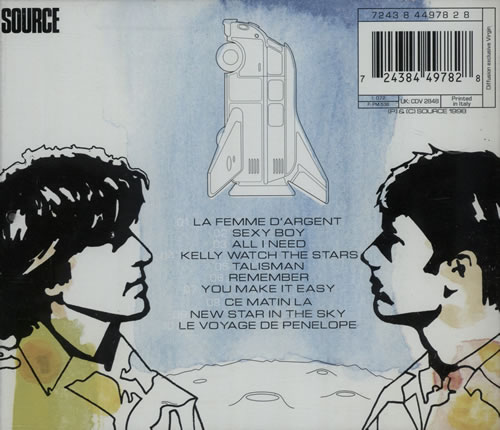 Air (French) Moon Safari CD album (CDLP) Italian AIRCDMO579158