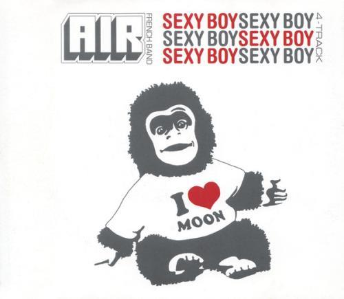 "Air (French) Sexy Boy CD single (CD5 / 5"") UK AIRC5SE151761"