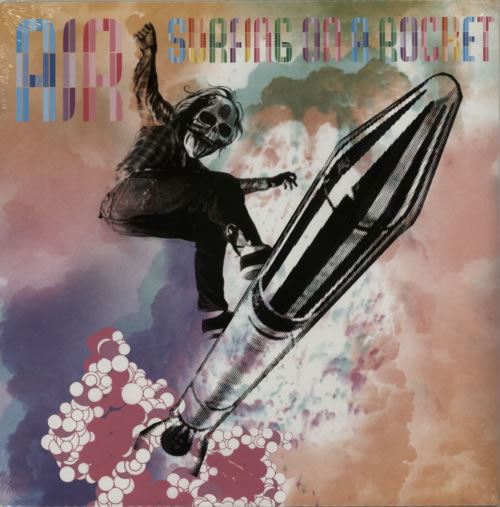 "Air (French) Surfing On A Rocket - Sealed 12"" vinyl single (12 inch record / Maxi-single) UK AIR12SU282794"
