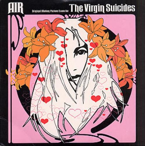 Air (French) The Virgin Suicides CD album (CDLP) European AIRCDTH153319