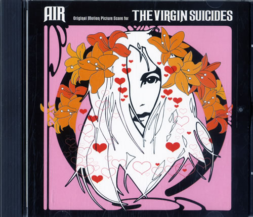 Air (French) The Virgin Suicides CD album (CDLP) Canadian AIRCDTH578708