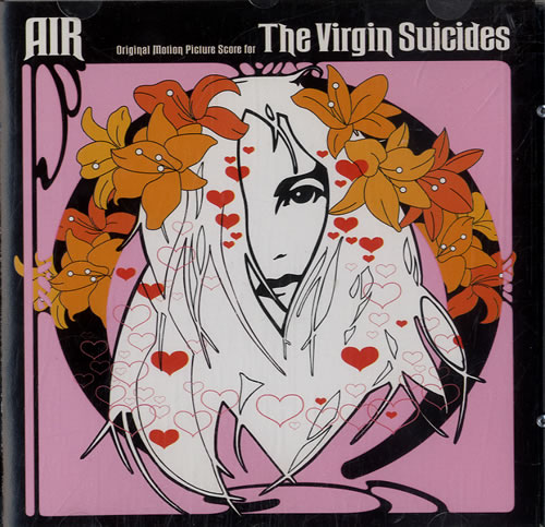 Air (French) The Virgin Suicides CD album (CDLP) Australian AIRCDTH596072