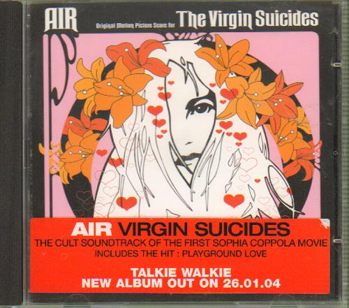 Air (French) The Virgin Suicides CD album (CDLP) UK AIRCDTH657612