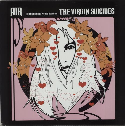 Air (French) The Virgin Suicides vinyl LP album (LP record) US AIRLPTH662709
