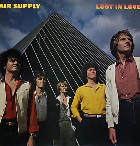 Air Supply Lost In Love vinyl LP album (LP record) UK AISLPLO285285