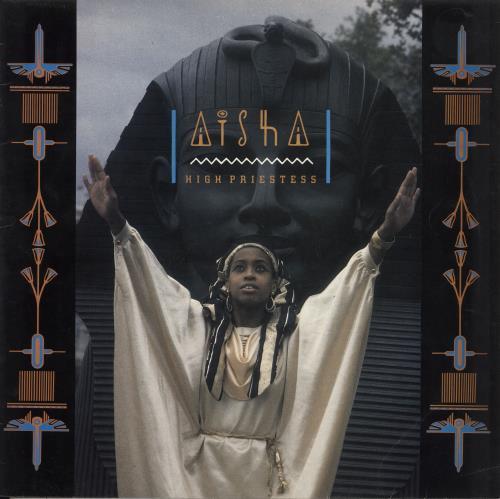 Aisha High Priestess vinyl LP album (LP record) UK Q7SLPHI709598
